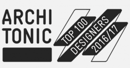2016/2017 ARCHITONIC TOP 100 DESIGNERS