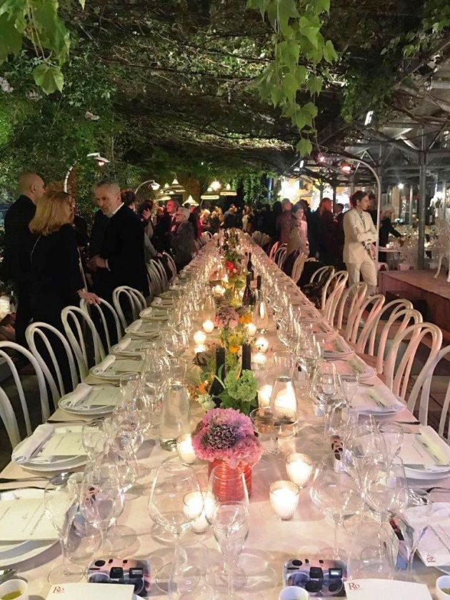 Dinner for 100 VIP at Spazio Rossana Orlandi [pt 3/4] @ Salone Milan 2017