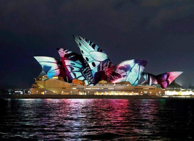 Sydney Opera House – Lighting the Sails @ Vivid Sydney 2017