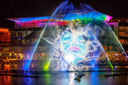 Magicians of the Mist @ Vivid Sydney 2017