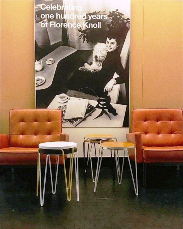 Knoll Revisits Florence Knoll Design Archive @ Neocon 2017