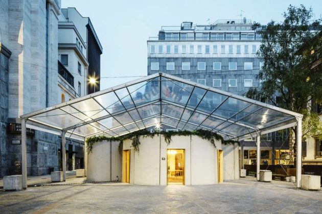 3D Printed House @ Salone Milan 2018