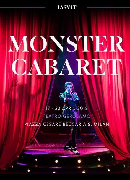 Lasvit's Monster Cabaret Show @ Salone Milan 2018