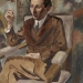 1925 portrait-of-walter-mehring by george grosz