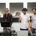 dj shin with logan and abraham seaman -