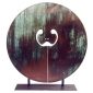 Five Foot Split Gong 1976 silicon bronze.jpg