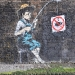 banksy fisher boy no fishing 1st Apr, 2010