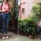 Giulia, Graphic designer, lives in Liguria Look @ Cinque Vie