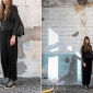 Federica, Artist, works and lives in Milan Look @ Marni La Vereda Event