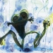 frog-in-the-rain