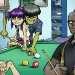 Gorillaz - billiards