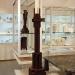 coroded standing candlestick by joost van bleiswijk