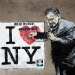 banksy / free henry poster boy new york
