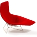 knoll bertoia assymetric chaise