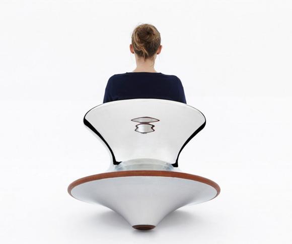 spun chair