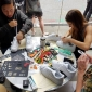 virgil abloh supply nike the kickz stand workshop at dedece sydney 2017 (19)