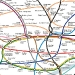 london curved map