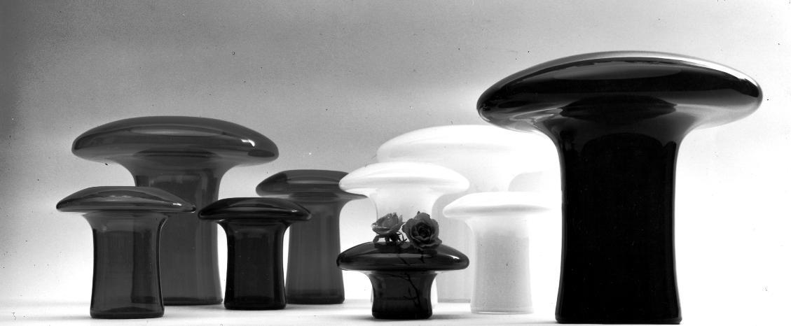 Vases in Vetro Soffiato by Mangiarotti