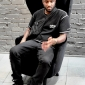 virgil abloh in tom dixon wingback chairs at dedece sydney (6)