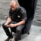 virgil abloh in tom dixon wingback chairs at dedece sydney (7)