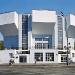 Rusakov Workers' Club: general view showing the three auditorium segments <br/>Richard Pare, 1995 <br/>50.8 x 61 cm <br/>Richard Pare, courtesy Kicken Berlin <br/>Copyright Richard Pare <br/>