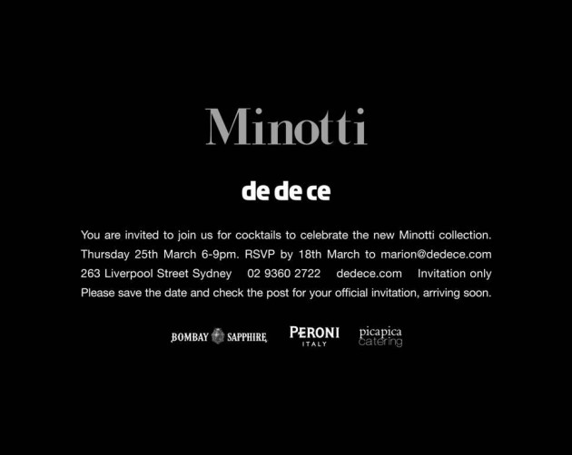 Minotti 2009 / 2010 @ dedece