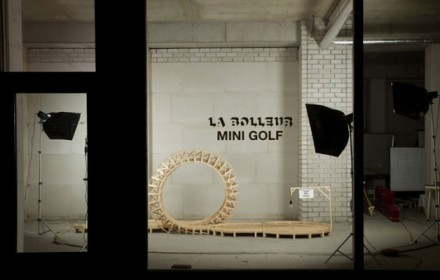 Salone Milan 2010 – La Bolleur mini golf project