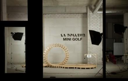 Salone Milan 2010 – La Bolleur mini golf project