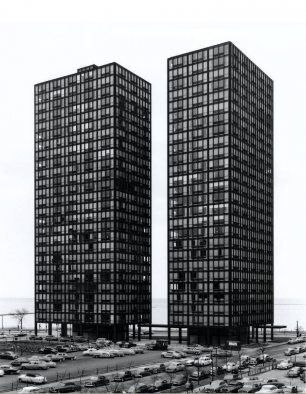 Mies van der Rohe – 860-880 Lake Shore Drive, Chicago