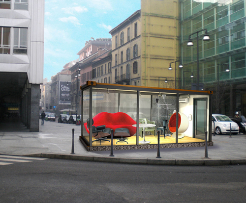 Salone Milan 2010 – Container spaces
