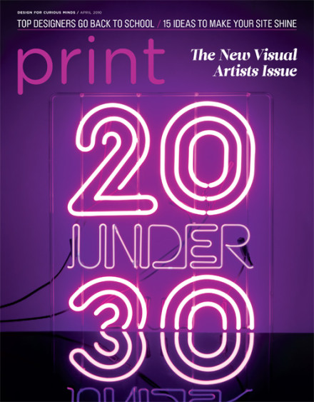 Top 20 Under 30 Visual Artists