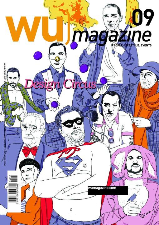 WU] Magazine – cover by Dino Cicchetti