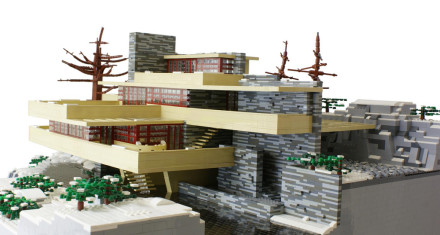 Falling Water in Lego