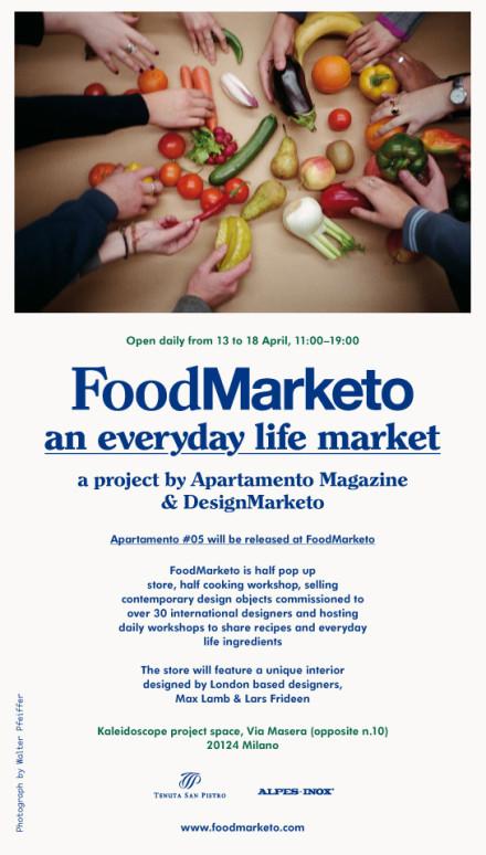 Salone Milan 2010 – Food Marketo