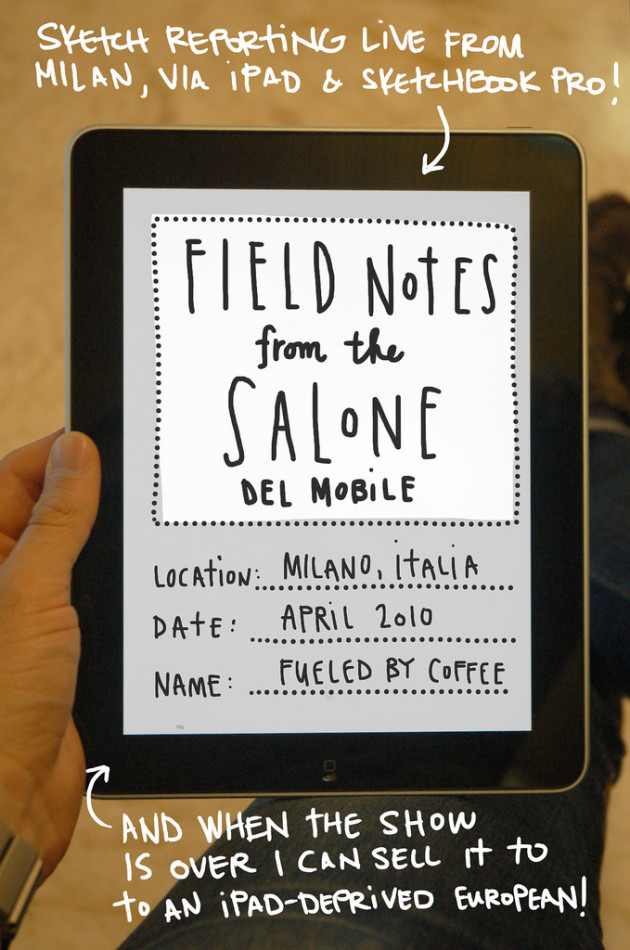 Salone Milan 2010 – Fuelled by Coffee for Core77