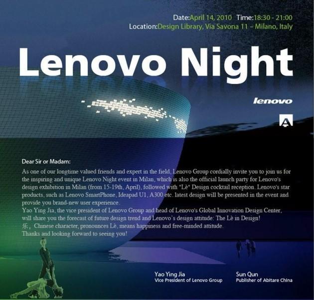 Salone Milan 2010 – Lenovo