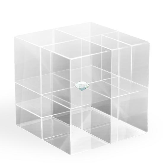 """Salon Milan 2010 – Nendo """"crystal puzzle"""""""