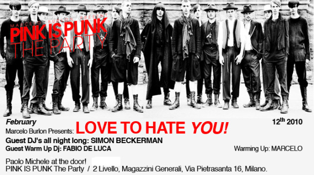 Salone Milan 2010 – Pink is Punk ( clubbing in Milan )