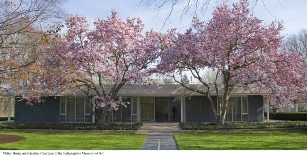 Eero Saarinen – Miller House – Columbus, Indiana