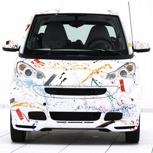 Salone Milan 2010 – Smart Car by Rolf Sachs
