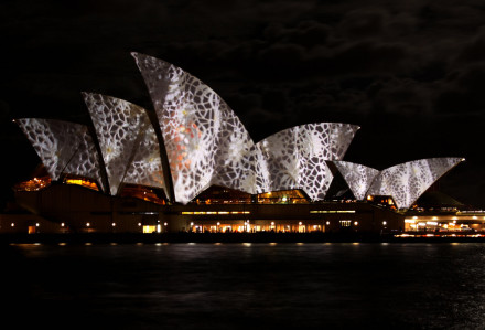 "Vivid Sydney Festival 2010 – ""Lighting the Sails"""