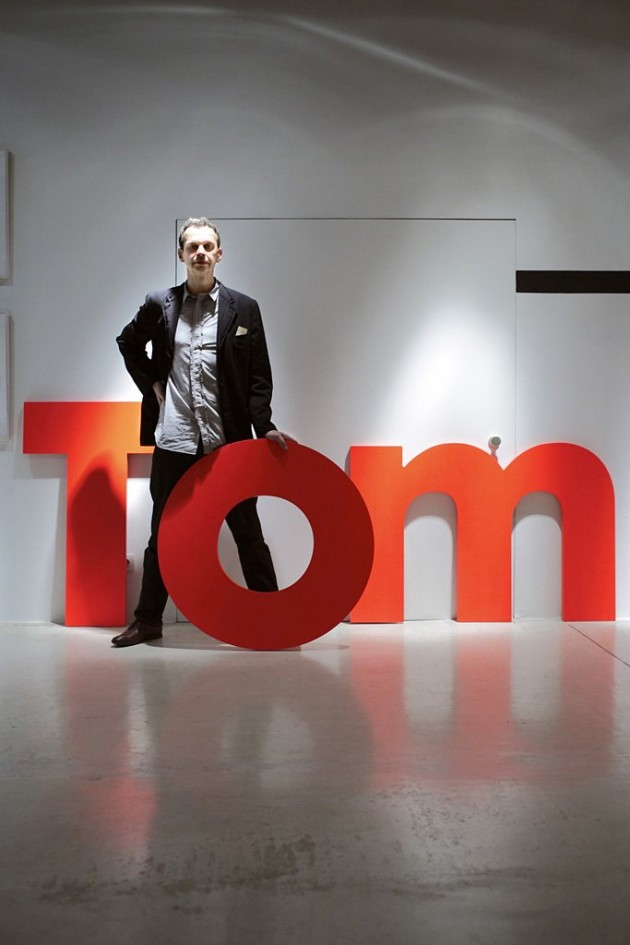 Tom Dixon Interview @ Tom Dixon's Studio, London