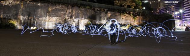 Vivid Festival Sydney 2010 – Illuminating Street Life