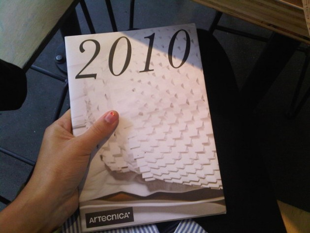 Making of the 2010 Artecnica catalogue
