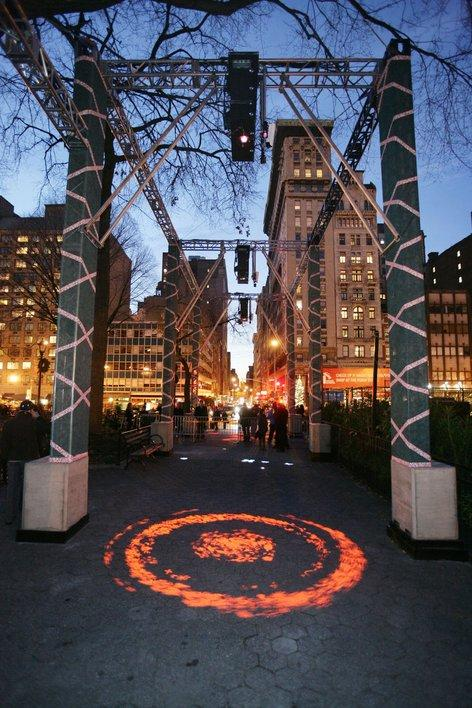 Bright nights @ Union Square Park, New York 2006