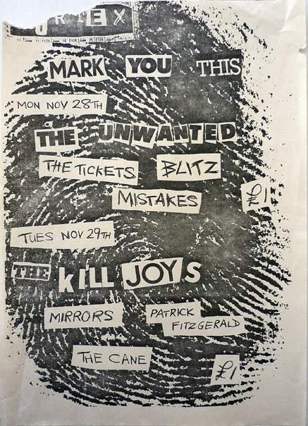 "The Mott Collection – ""Loud Flash : British Punk on Paper"""