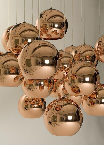 Tom Dixon loves Copper