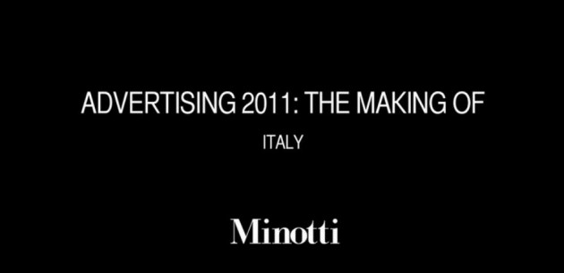 Minotti Advertising Campaign 2011
