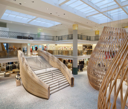 Hermes @ Rive Gauche, Paris by Rena Dumas Architects