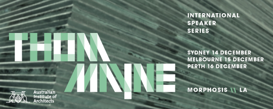 Thom Mayne's upcoming AIA Lecture Tour